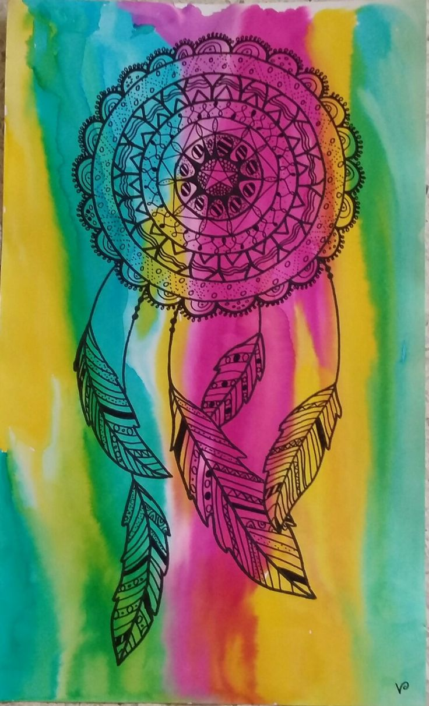 Attrape rêve/Mandala