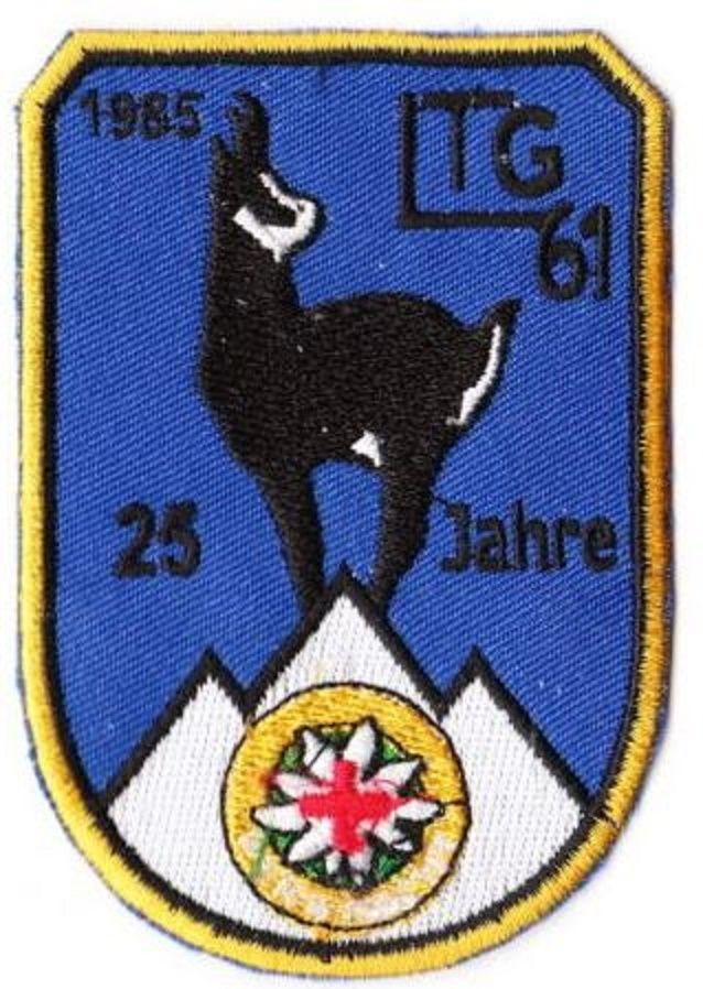 Bundeswehr Aufnäher Patch Luftwaffe Luft Transport Geschwader 61