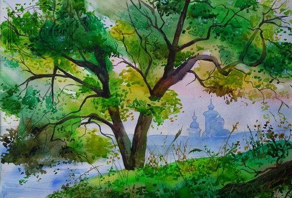 Уроки акварельной живописи. Обучение акварели. Уроки для взрослых и детей акварелью