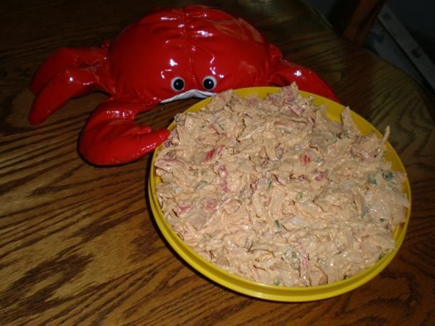 Cajun Crab Spread (Using Imitation Crab). Photo by mailbelle
