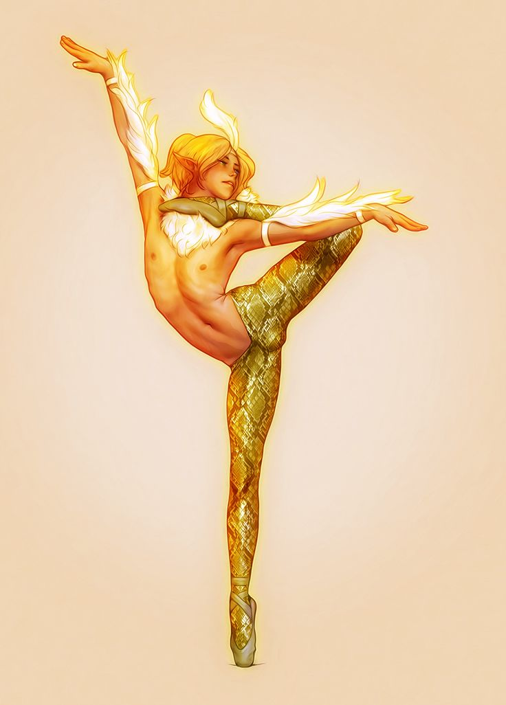 This is a dance I just invented for my new adopted elf Arlen, it symbolizes the fight between a swan and a snake.