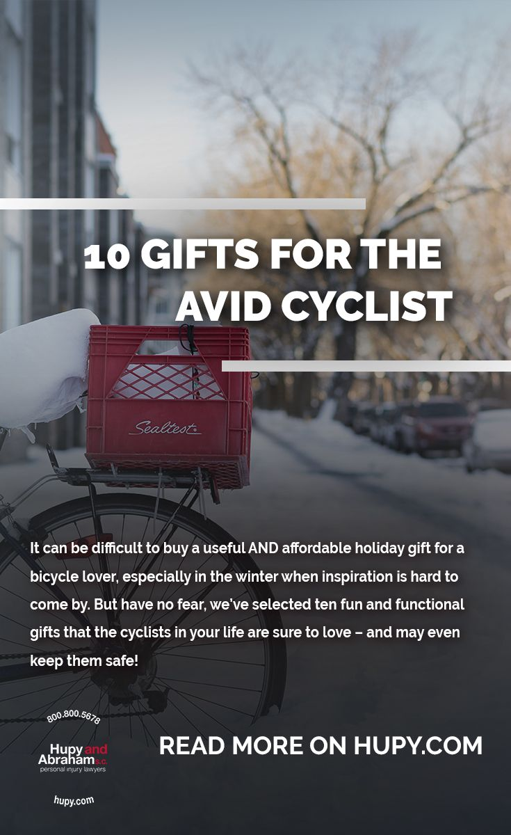 More gift ideas coming your way! Here are ten fun and functional gifts  (with links!) that the cyclists in your life are sure to love – and may  even keep ... 0b18a4b33