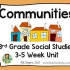 Communities Unit for 3rd Grade Social Studies!  In third grade, we spend a lot of time learning about communities so my purpose was to create some ...
