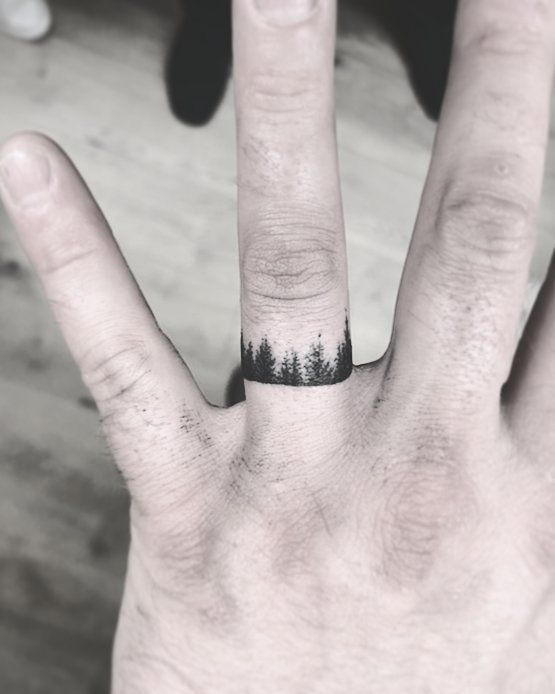 60 Romantic Ring Finger Tattoo Ideas | Tattoos & Piercings ...