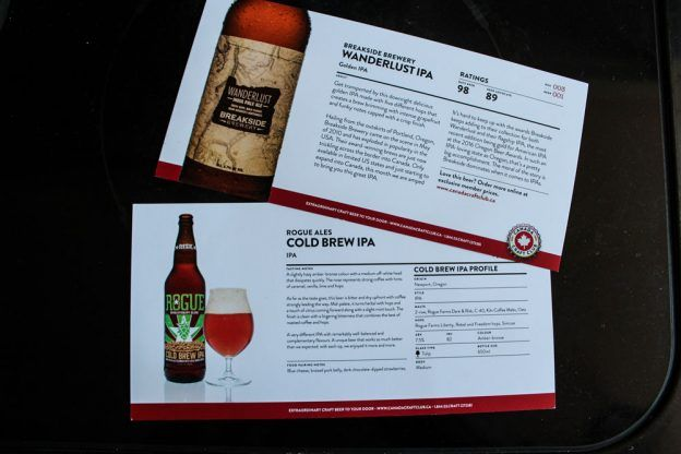 craft beer subscription in Canada, gifts for beer lovers