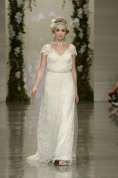 Off- white lace dress