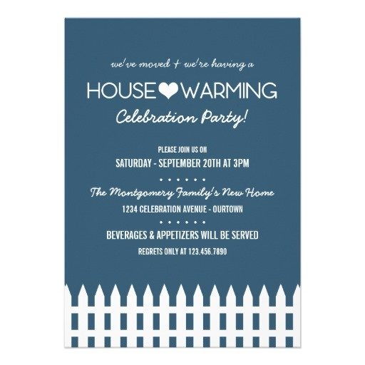 Family Housewarming Party Invitation Housewarming Party