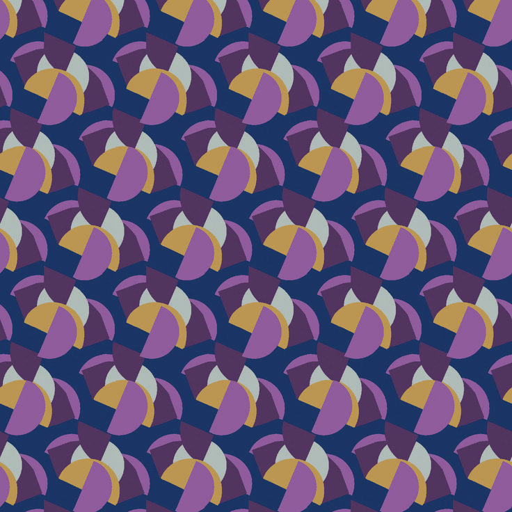 Bauhaus - gorgeous geometric print inspired by the famous German arts and craft movement. bit.ly/1A8EQ2R