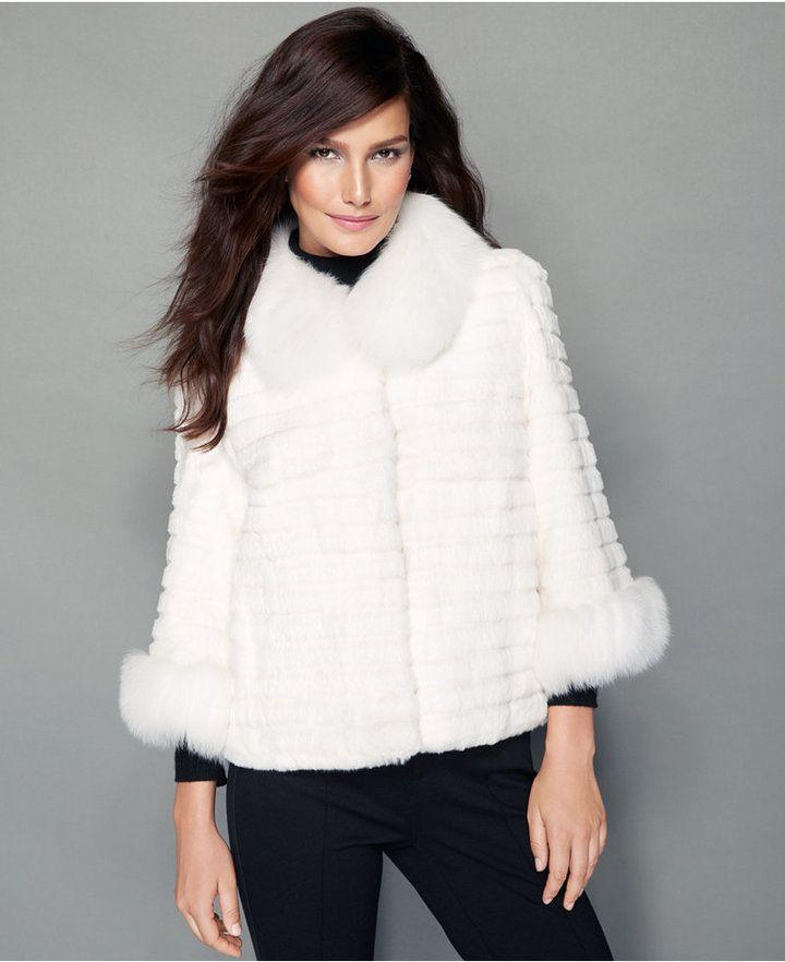 25  cute White fur jacket ideas on Pinterest | White fur coat ...