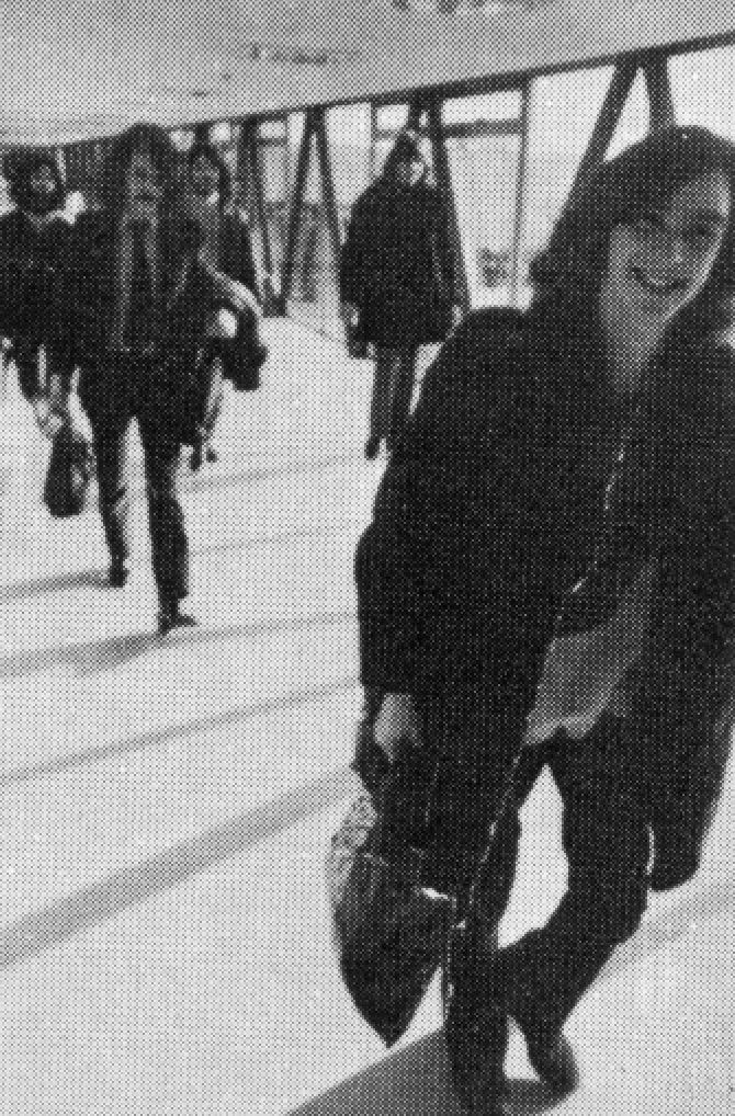 King Crimson at Heathrow Airport | October 27, 1969
