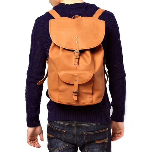 sandqvist leather backpack SANDQVIST LEATHER BACKPACK | ASOS VOUCHER CODE