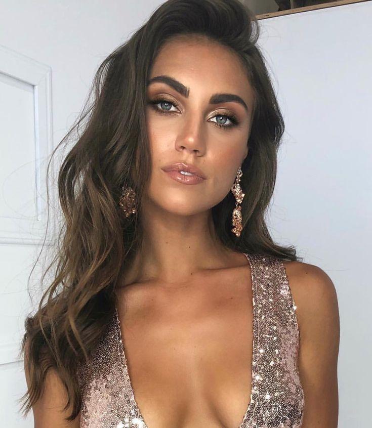 Pinterest: DEBORAHPRAHA ♥️ bronze makeup look