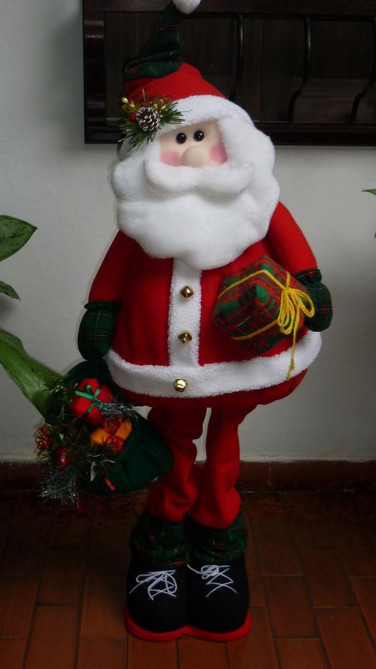 Santa con regalos