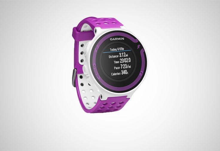 #Garmin Forerunner 220 GPS HRM violet/white