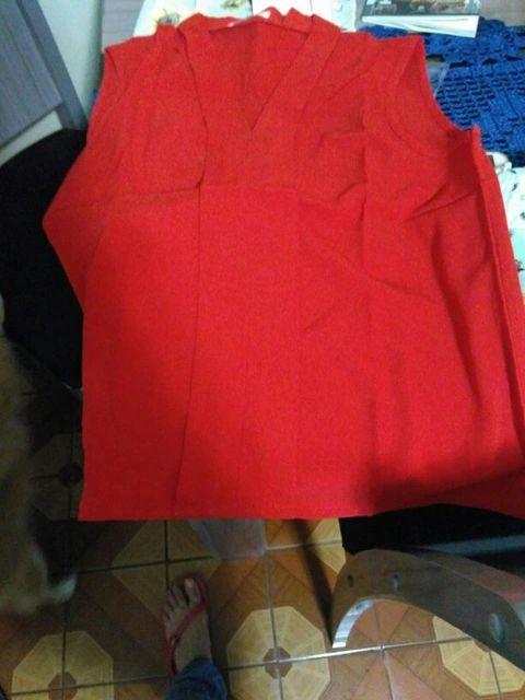 Blusas Femininas 2016 nova moda feminina colorido do decote em V Chiffon verão Blusas camisa bonito sem mangas camisas Casual Top Loja Online | aliexpress móvel