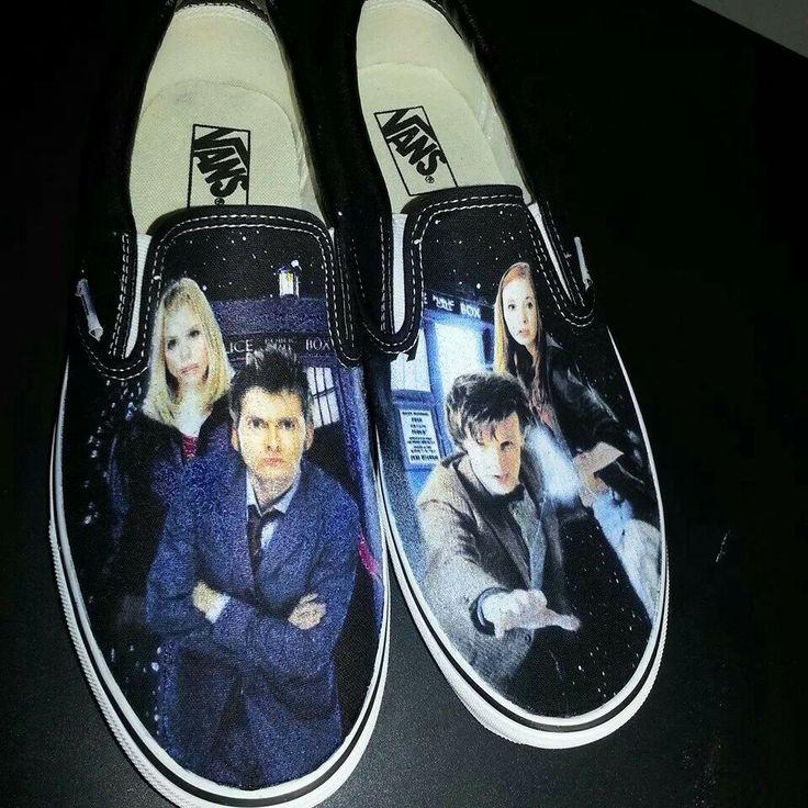 Tardis Vans Shoes
