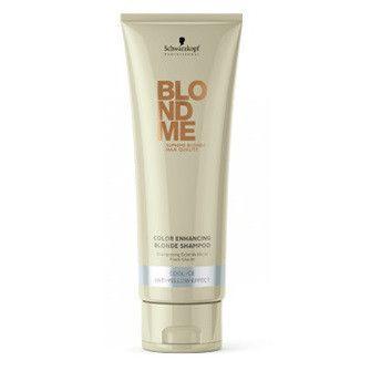 BLONDME es un tratamiento completo de 360º que ofrece un cuidado intensivo. Champú reflejos de luminosidad para cabellos rubios.  Suave y cremoso para uso diario.