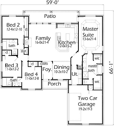 House plans by korel home designs for the family for Korel home designs online