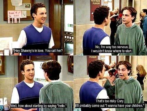 Boy Meets World: 3 Boys, My Life, Funny, Bmw 3, Boymeetsworld, Bmw Gmw, Boy Meets World