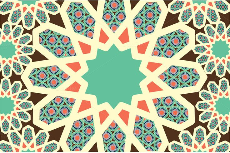 islam muslim malay motif vector by lyeyee on creative