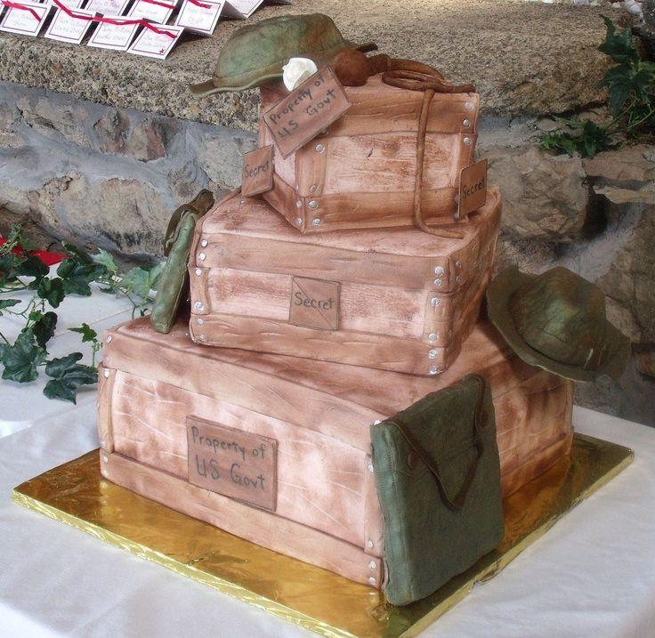 Another cake idea Indiana Jones wedding cake