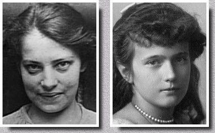 Franziska Schanzkowska dite Anna Anderson est la femme qui a rendu célèbre Anastasia en se proclamant être la quatrième fille de Nicolas II. C'est sans doute la prétendante qui a rassemblé le plus de partisans au cours du XXème siècle, alors même que sa ressemblance avec Anastasia n'est pas frappante. En effet, elle ressemblait plus à Tatiana, sans toutefois posséder sa beauté. En 1994, les tests ADN ont fprouvé qu'Anna Anderson n'était pas Anastasia, ni même un membre de la famille Romanov.