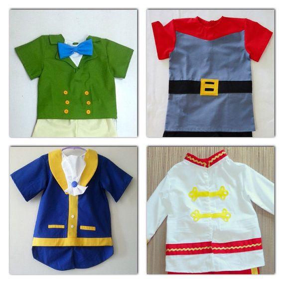 Prince Top - Shirt - Beast - Prince Phillip - Prince James -Costume - 12M to 7Years