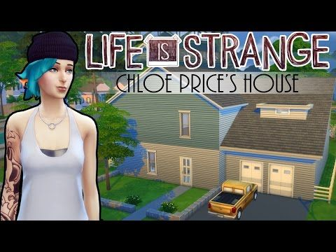 The Sims 4: Life is Strange - Chloe Price's House | Speed build + Download - YouTube