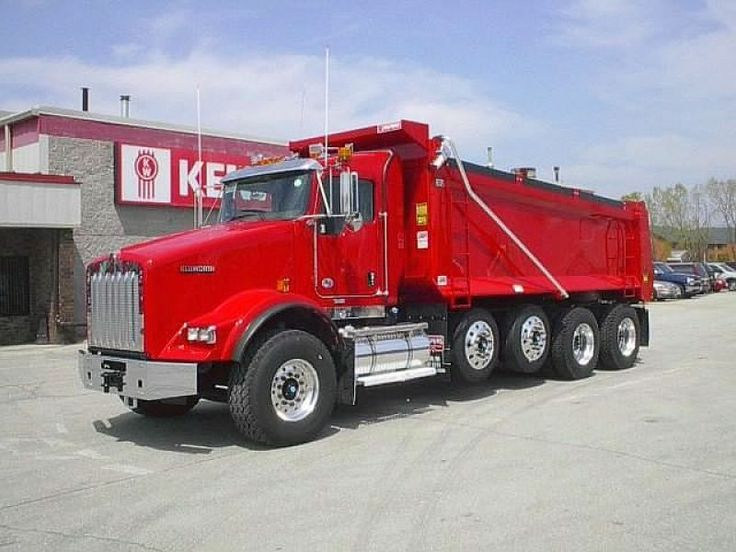 dump trucks for sale | NEW 2013 Kenworth Dump Truck T800 for sale