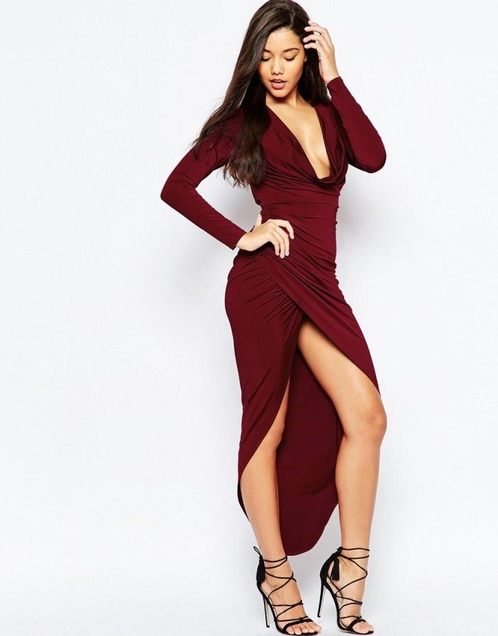 Lorianna Low Back Sequin Midi Dress