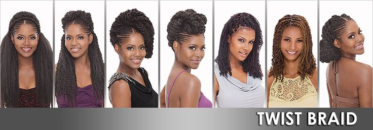Femi Collection 100% Kanekalon Hair Kinky Twist Braid - Samsbeauty  Youtube video: https://www.youtube.com/watch?v=BJTThNxbjw4&list=PLnRT6wSBOUaUjxmACpa-bi6eOxqk7XYtl&index=17