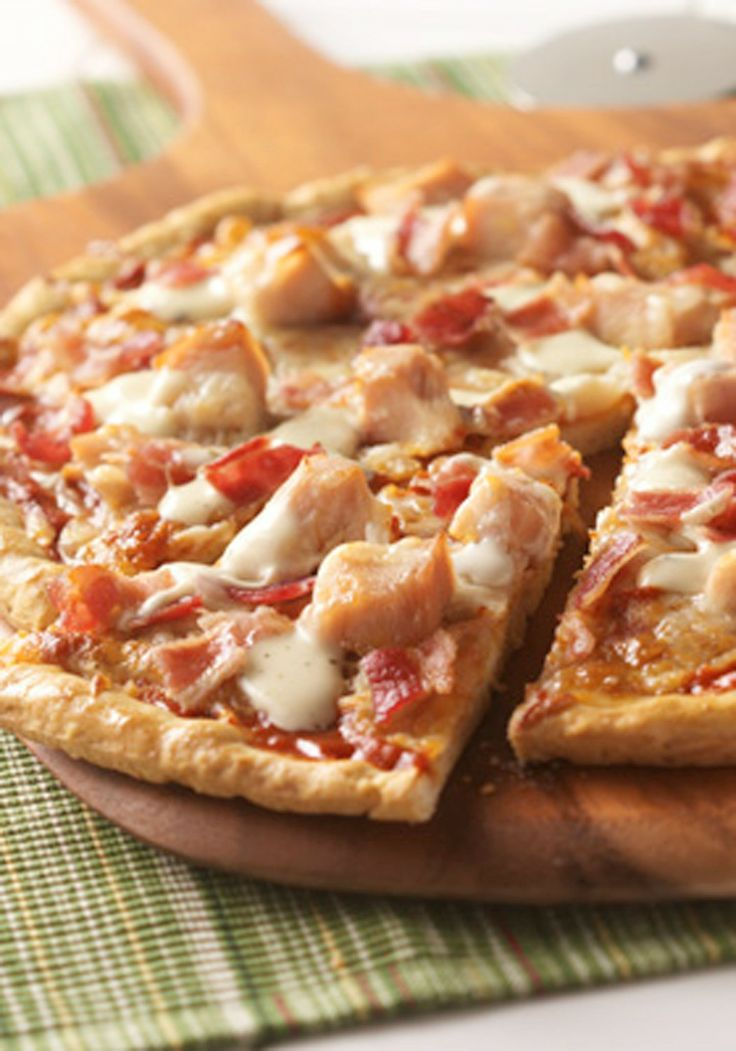how to make chicken cubes for pizza