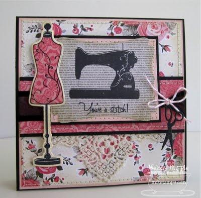 כרטיסPaper Melody, Amazing Cards, Uncommon Paper, Mft July, France Stole, Pretty Nifty, July Teasers, Sewing Pretty, Paper Gorge