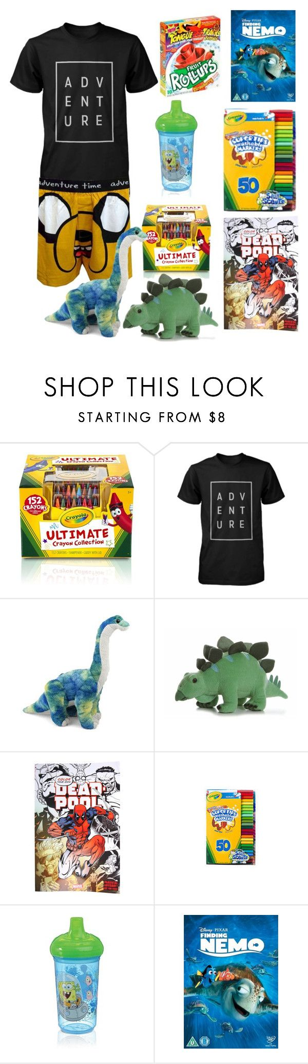 """Daddy's Little Boy"" by lizy-and-bandz ❤ liked on Polyvore featuring Crayola, men's fashion, menswear, cgl, ddlb and caregiverlittle"