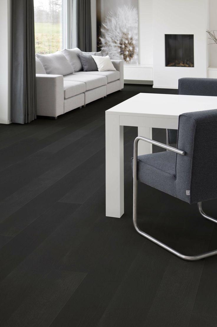 Vloeren breda houten vloer in grijstint for Interieur vloeren