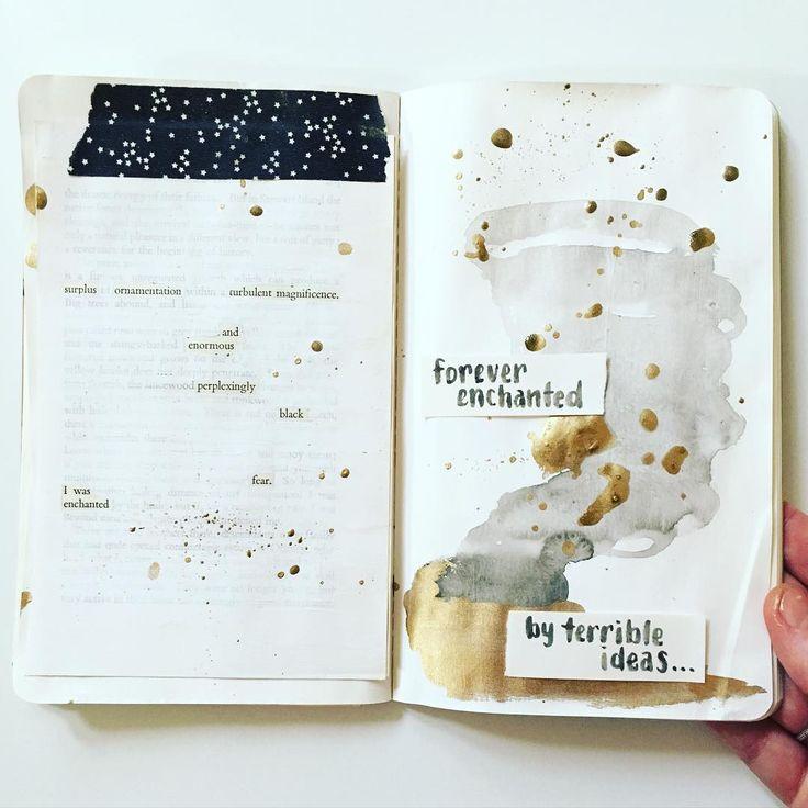 Art journal by mama_finch on Instagram