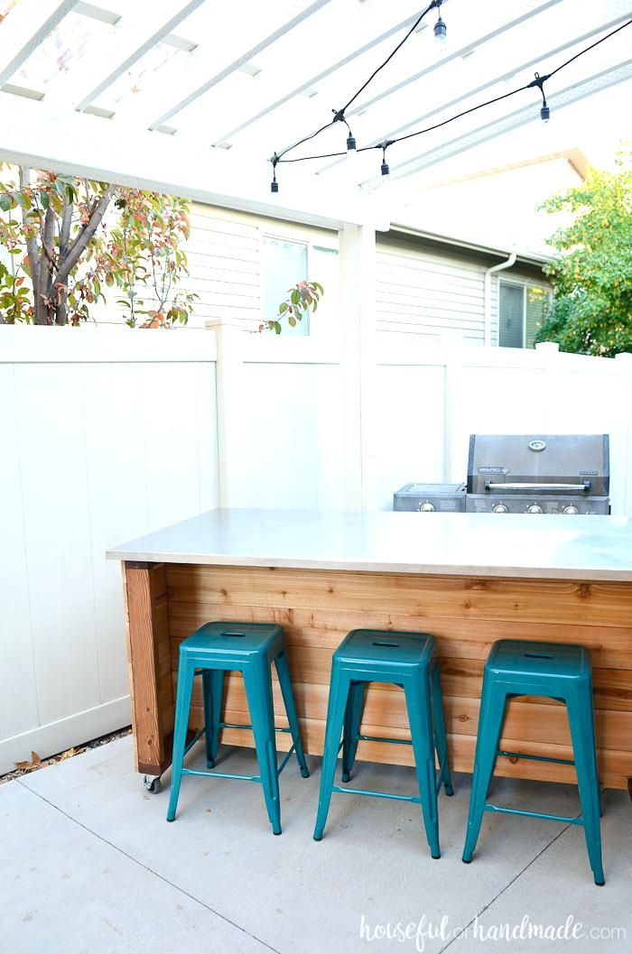 Portable Outdoor Kitchen Island