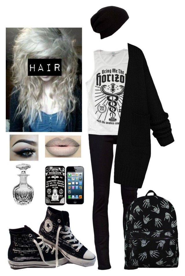"""""""Untitled #292"""" by xxbrokendollxx on Polyvore featuring Nudie Jeans Co., Converse and Forever 21"""