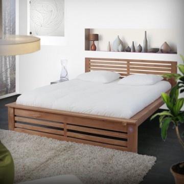 Das Bett aus Teak 160x200 Coffee Tek by Tikamoon ist aus massivem unbehandeltem Teak hergestellt.   Klicken Sie einfach auf das Bild und schauen Sie sich die Tikamoon Seite an!