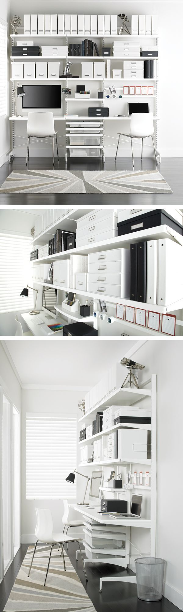 100 ideas to try about elfa office container store organizing and the container - Container store home office ...