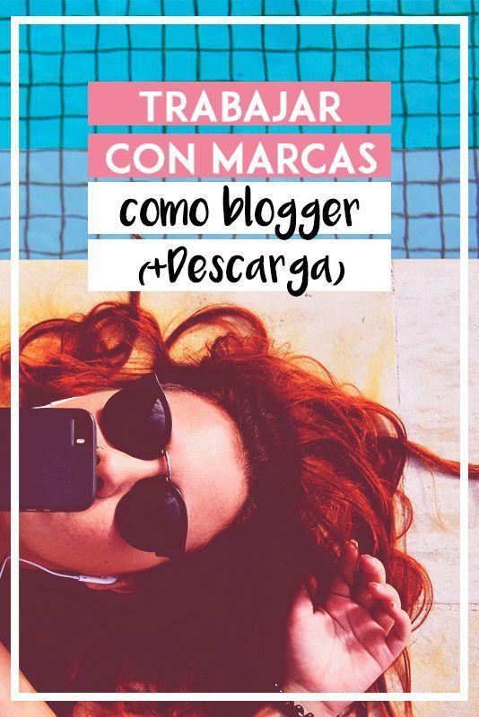 Trabajar con marcas como blogger (+ DESCARGA MEDIA KIT GRATIS)