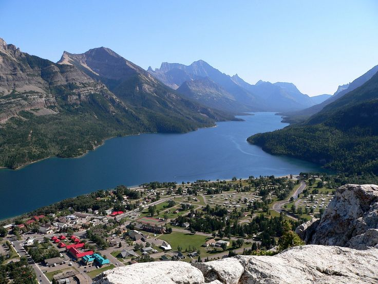 The view from Bear's Hump overlooking Waterton Lake. | 14 Sites In Alberta That Will Make You Feel Alive