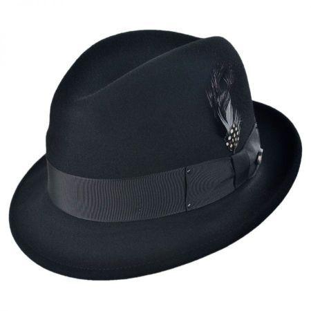 Tino Wool Felt Trilby Fedora Hat 3477a78cc876