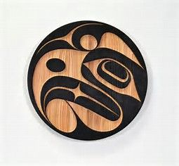 Image result for haida style carving round
