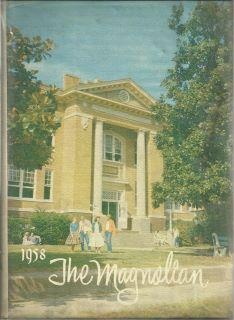 The old Magnolia High School which became the old city hall.  (now torn down).  Both of my parents went to high school here and my grandfather, Mayor Kolb had his office here.