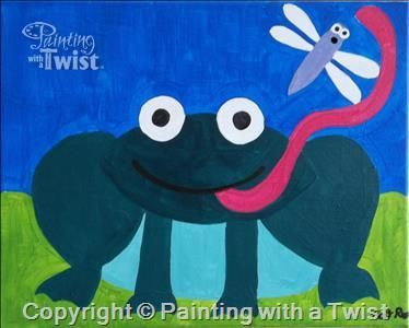 Silly frog sarasota fl painting class painting with a for Painting with a twist charlotte nc
