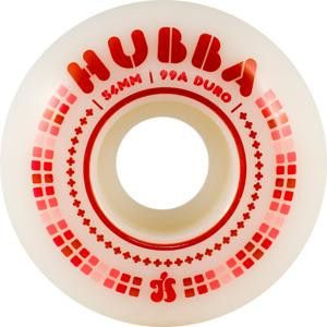 Hubba Wheels Spectrums - White - 54mm 99a