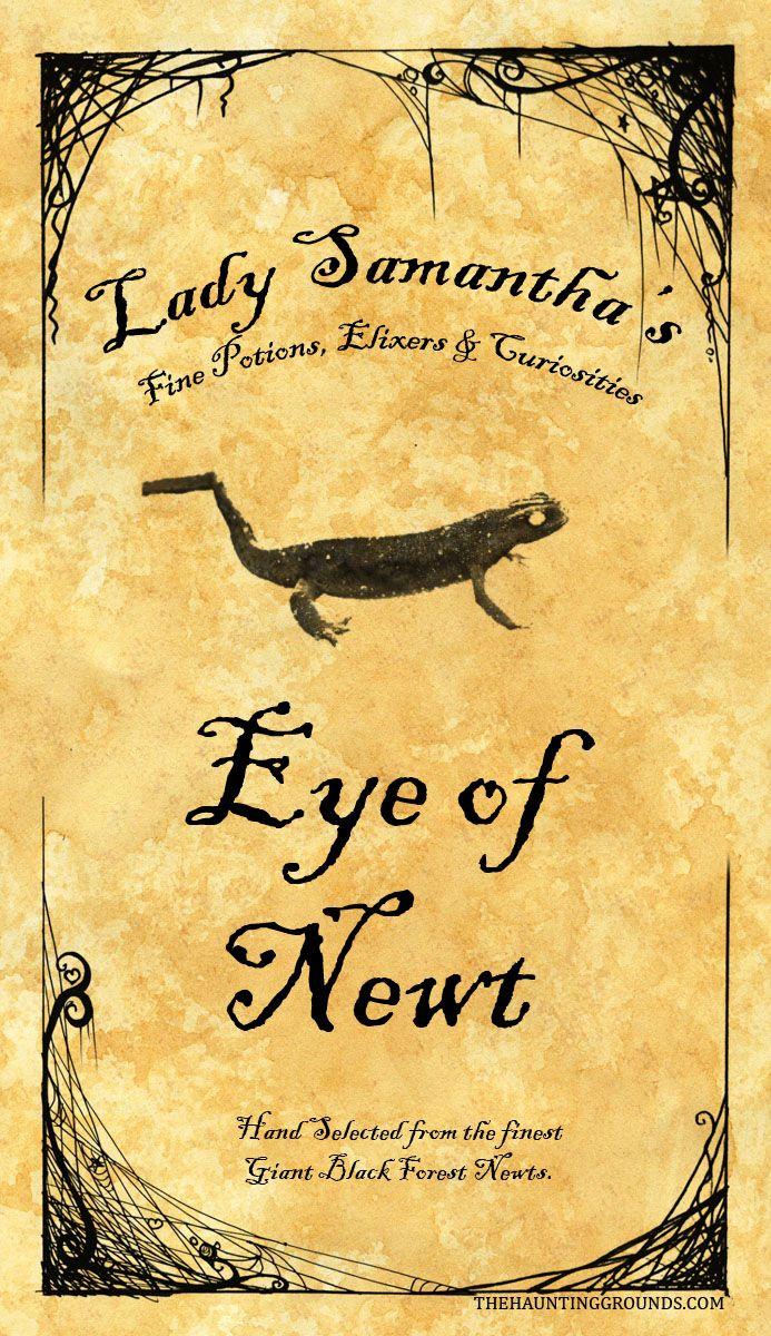 Eye of newt osrs