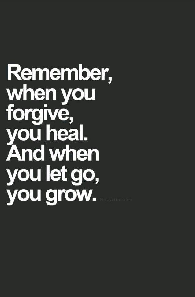 Heal. Then grow.