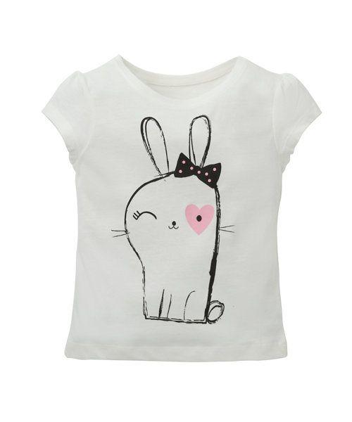 Cute Bunny T-Shirt - t-shirts - Mothercare